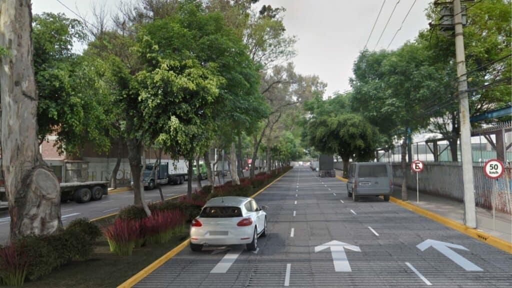 Calle Ceylán en la Zona Industrial Vallejo tras su renovación