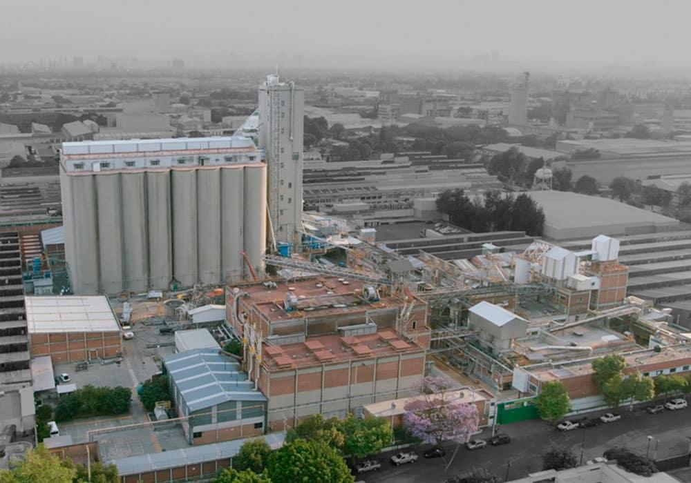 Vista aérea de Zona Industrial Vallejo para renta de locales comerciales CDMX Vallejo Properties